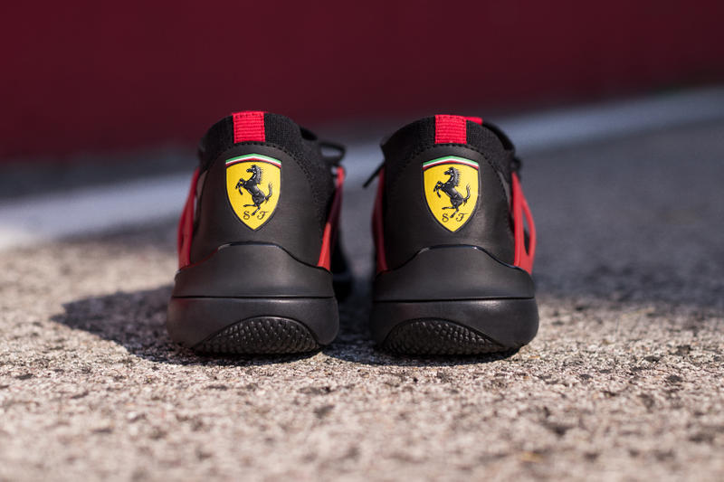 Scuderia Ferrari PUMA Evo Cat Lace Formula One Grand Prix Racing Motorsports Footwear Sneakers Shoes