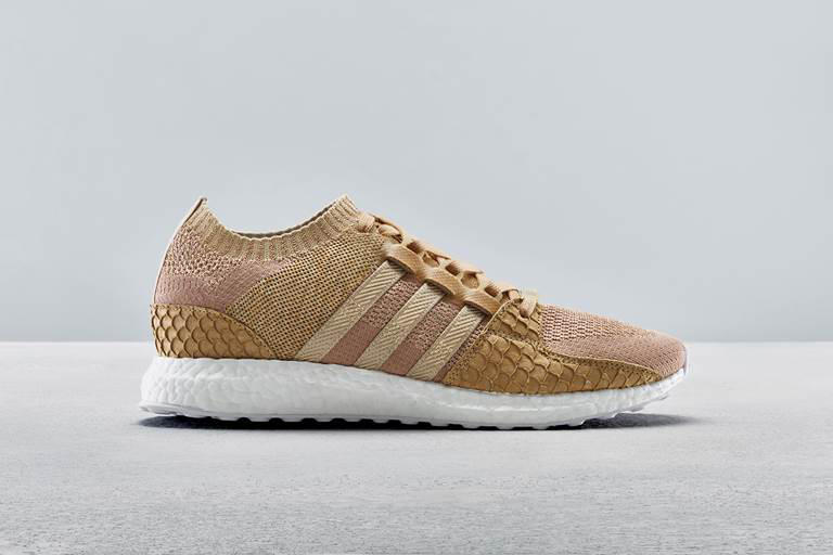 new products d474a 528ec Pusha T adidas Originals EQT Support Ultra PK Primeknit King Push Brown  Paper Bag First Look