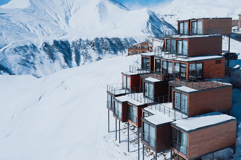 Quadrum Ski & Yoga Hotel Georgia Caucasus Mountains