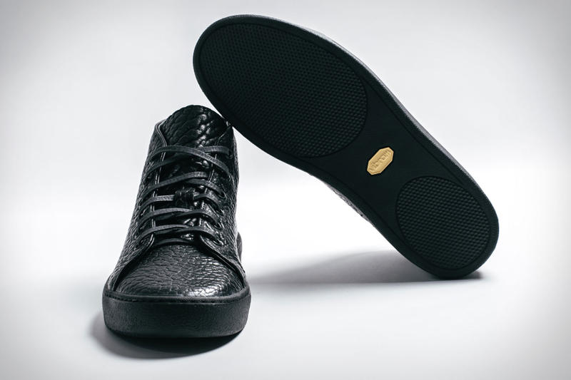 Rancourt & Co. Uncrate Court Classic Sneaker Black Leather