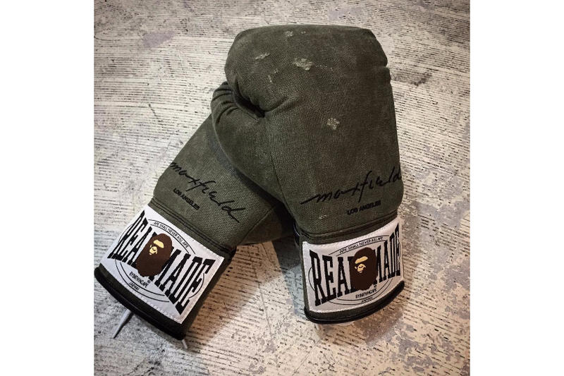READYMADE x A BATHING APE Boxing Gloves Green