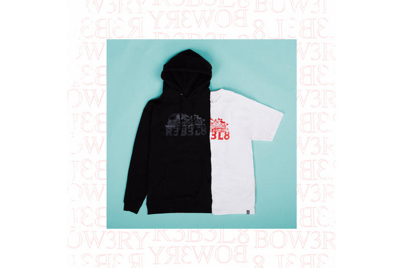 REBEL8 Bow3ry Fall Winter 2017 Capsule Collection Collaboration Release Date Info t-shirt hoodie jacket coat dead eyes tell no lies