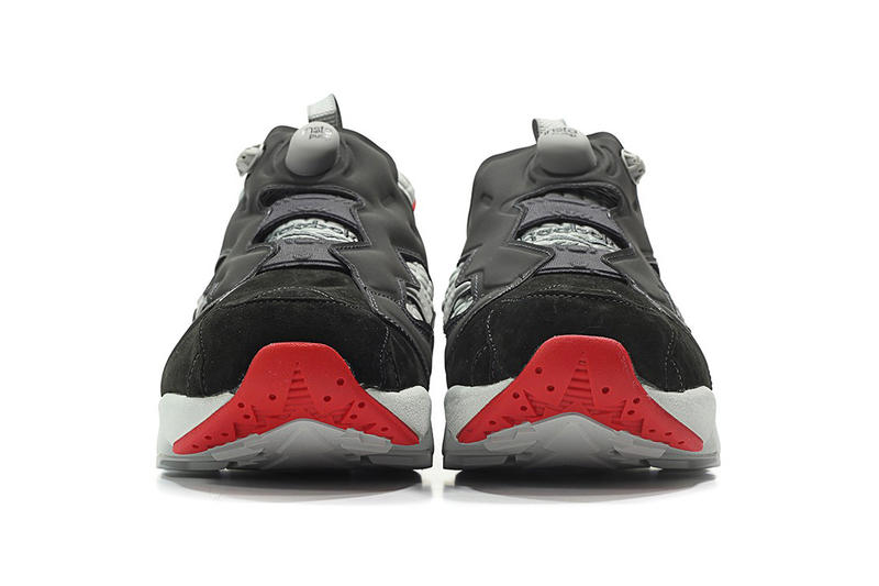 Reebok Instapump Fury Black Grey Red