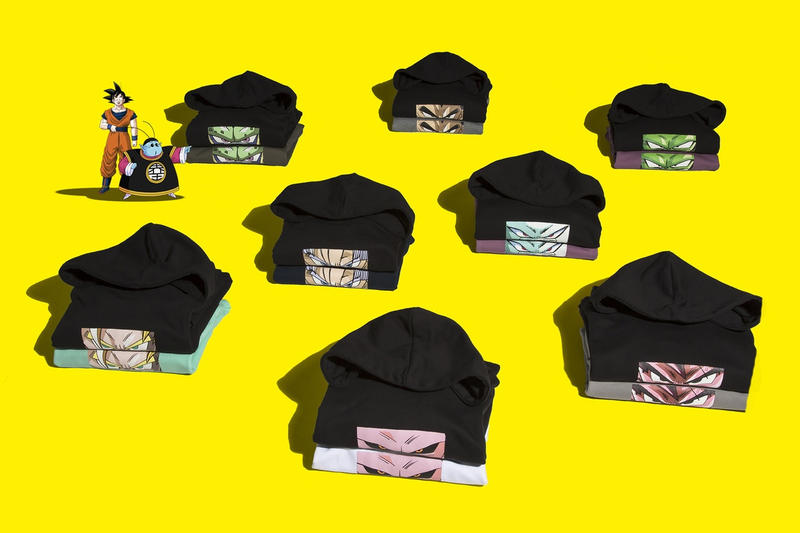 Remix Dragon Ball Z Capsule Collection Collaboration 2017 October 28 2017 Release Date Info Hoodies Pins Taiwan