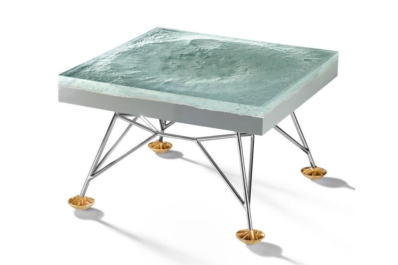 Resin and Fibreglass Table Harow Moon's Topography