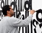 LA Artist RETNA Brings His Calligraphic Graffiti to Frieze Art Fair