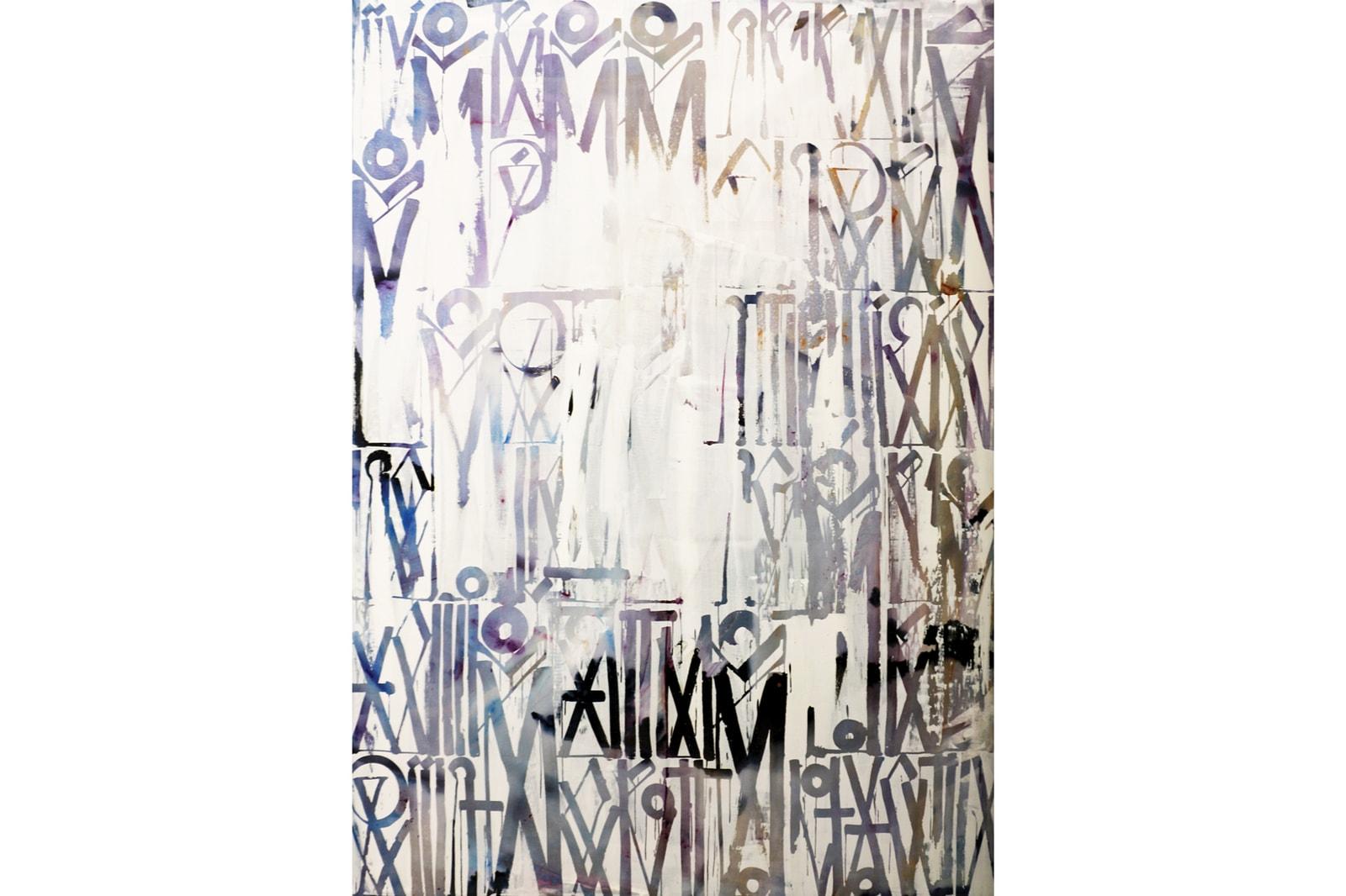 RETNA Margraves Solo Exhibition Maddox Gallery London United Kingdom Art Artwork Graffiti Calligraphy