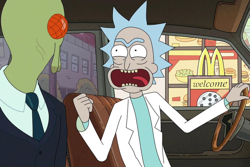 Rick and Morty McDonalds Szechuan Sauce  car