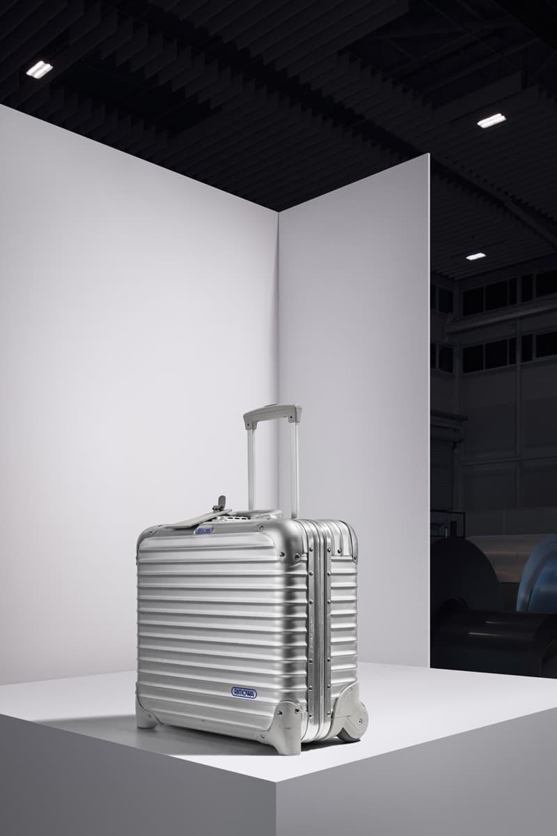 RIMOWA 80th Anniversary Aluminum Luggage NIGO Virgil Abloh Verbal Yoon David Fincher Martha Stewart