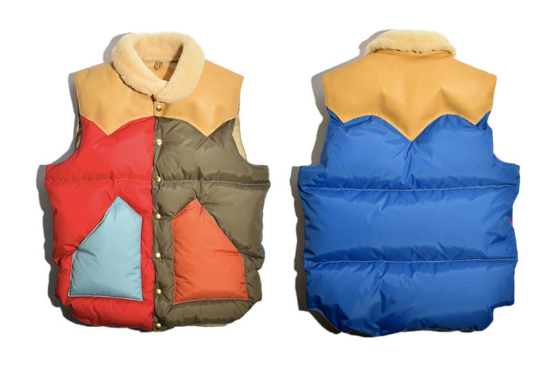 Rocky Mountain Featherbed MOONLOID Multicolored Duck Down Vest