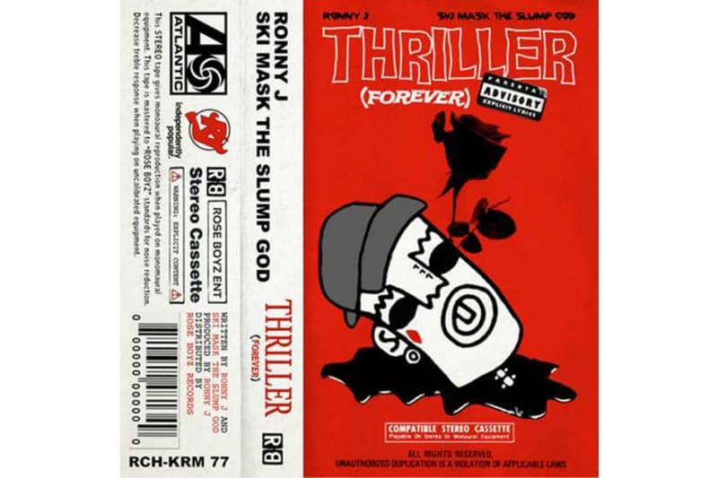 Ronny J Ski Mask The Slump God Discography Thriller Forever Single Stream