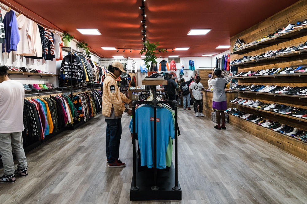 Round Two New York Resell Supreme The North Face Nike adidas YEEZY Vintage Stone Island Store Opening Recap Highlights LES New York City