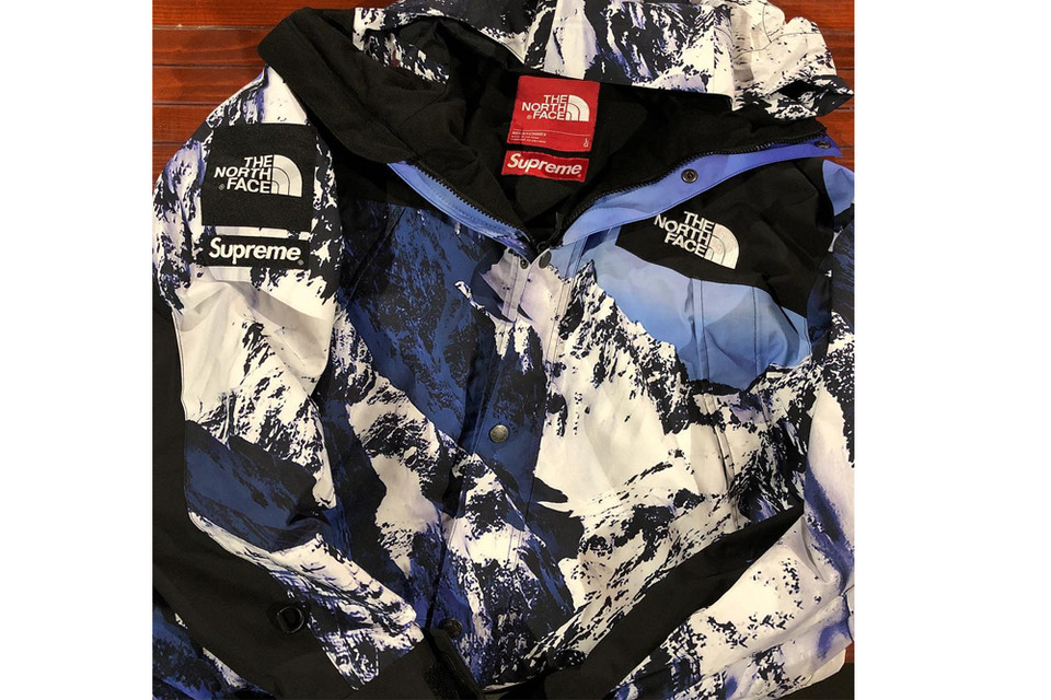 591b7b66a11 Round Two Selling an Unreleased Supreme x The North Face Jacket ...