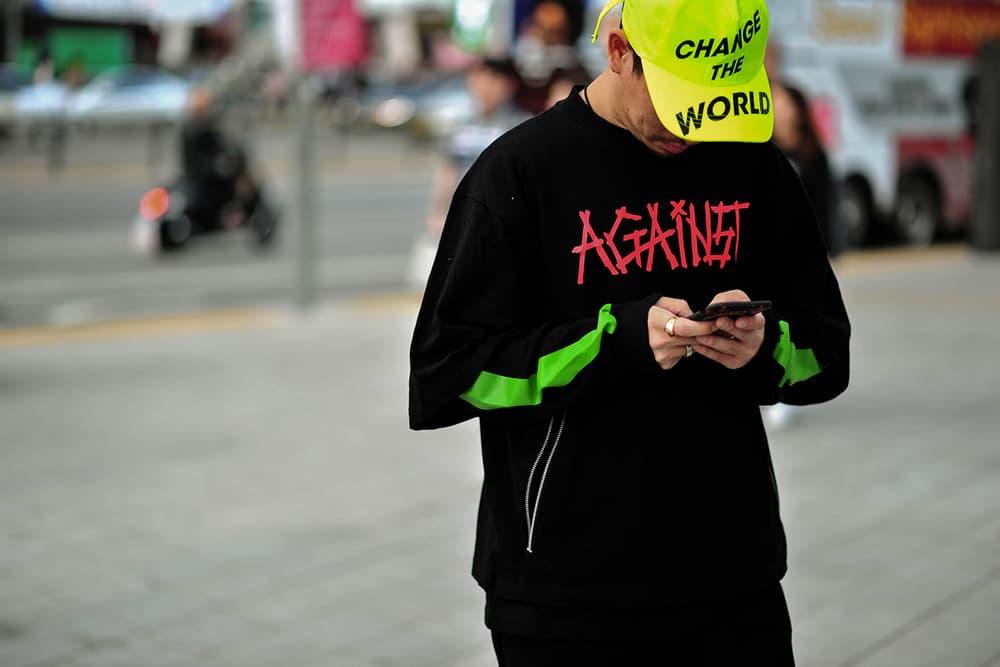 Seoul South Korea Fashion Week SS18 Spring Summer 2018 Street Snaps Style