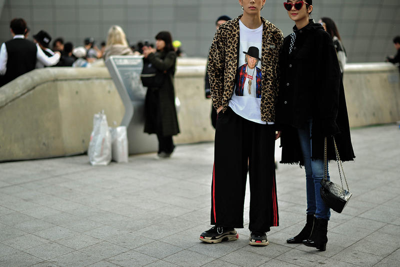 Seoul South Korea Fashion Week SS18 Spring Summer 2018 Street Snaps Style