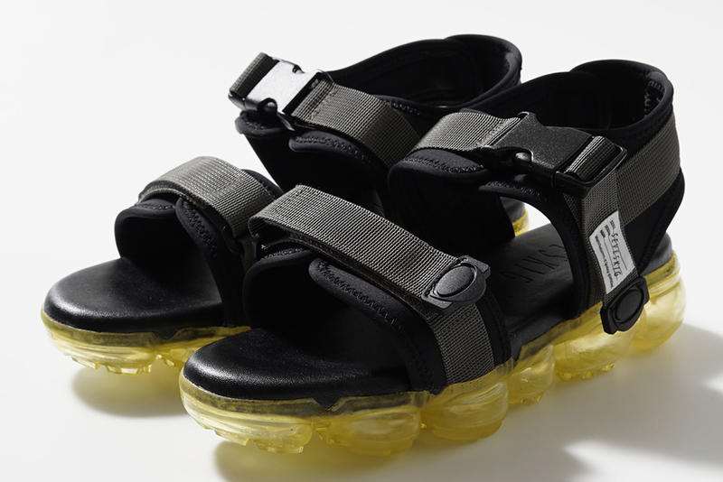 Seveskig Spring Summer 2018 Clear Sole Sandals Nike Air Vapormax Tomo&co Suicoke