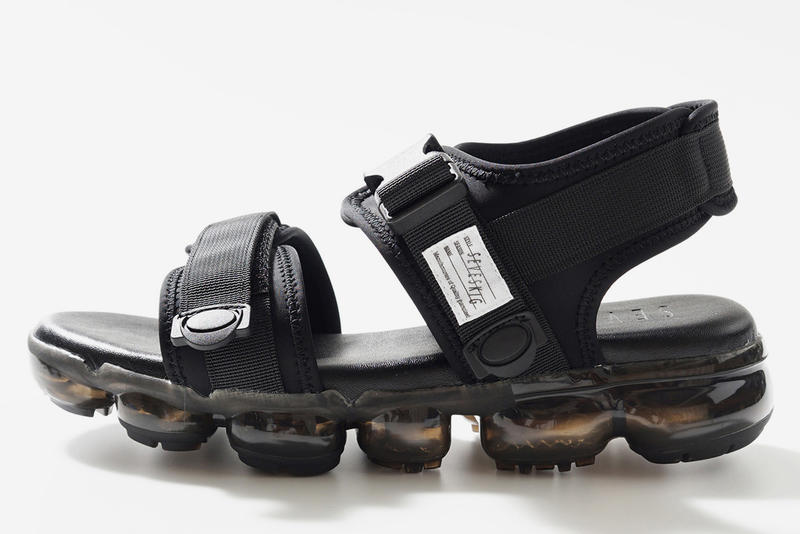 9aabef1e8a56 Seveskig Spring Summer 2018 Clear Sole Sandals Nike Air Vapormax Tomo co  Suicoke