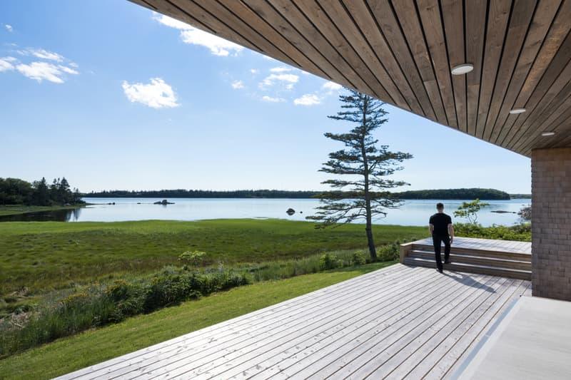 Omar Gandhi Architect Sluice Point House Nova Scotia Yarmouth