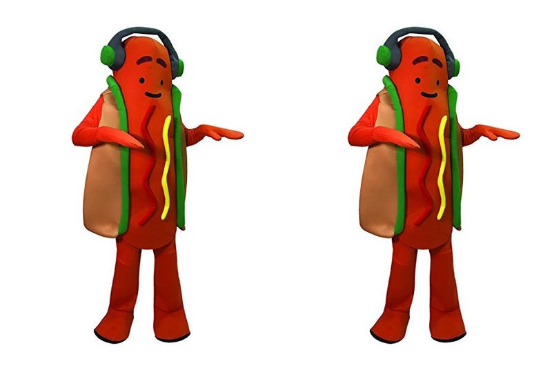 Snapchat Dancing Hot Dog Halloween Costume Amazon Party