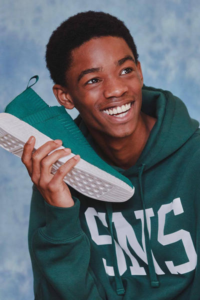 Sneakersnstuff adidas Collaboration Teaser footwear October originals NMD CS2 city sock 2 teal green release details information date sneakers shoes collaboration sns hoodie
