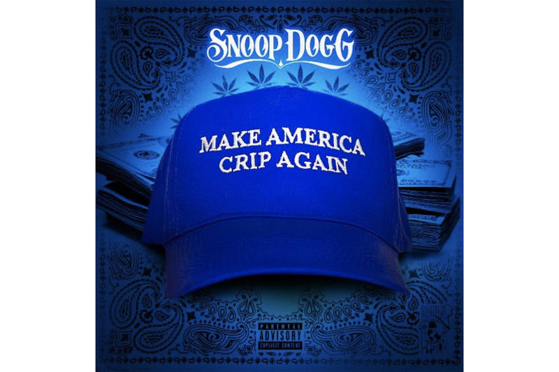 Snoop Dogg Make America Crip Again Single Stream EP Title Track 2017 October 19 27 Release