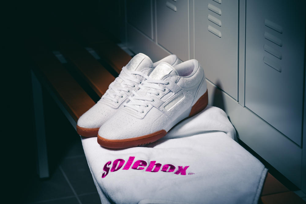 Solebox Reebok Workout Lo Clean Year of Fitness Collaboration 2017 October 7 Release Date Info Sneakers Shoes Footwear
