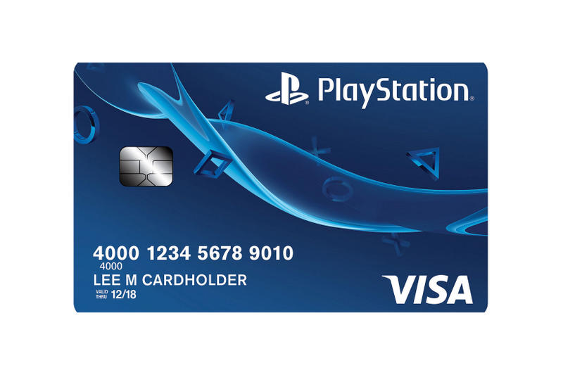 Sony PlayStation Visa Credit Card Rewards Points Loyalty Program PS Capital One