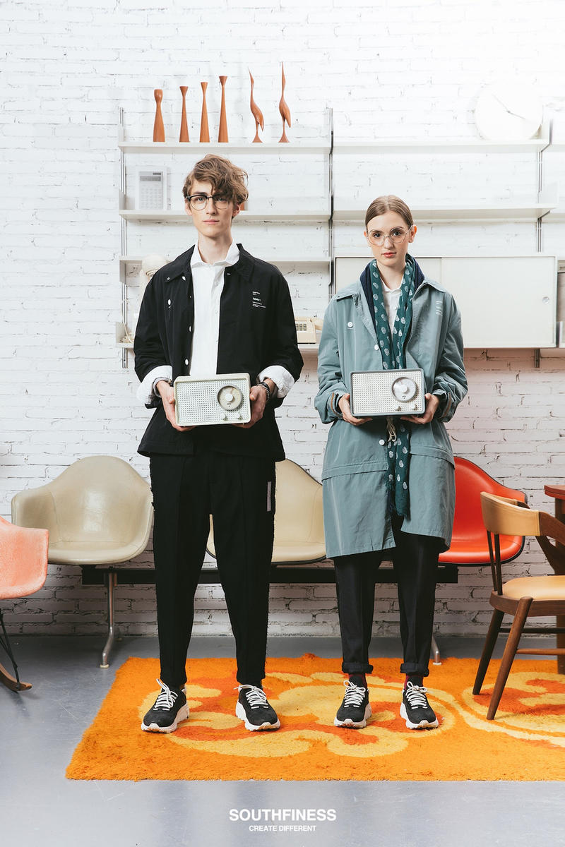 SOUTHFINESS 2017 Fall Winter DESIGNED TO MAKE A DIFFERENCE Collection Lookbook Dieter Rams Braun China Joy Division