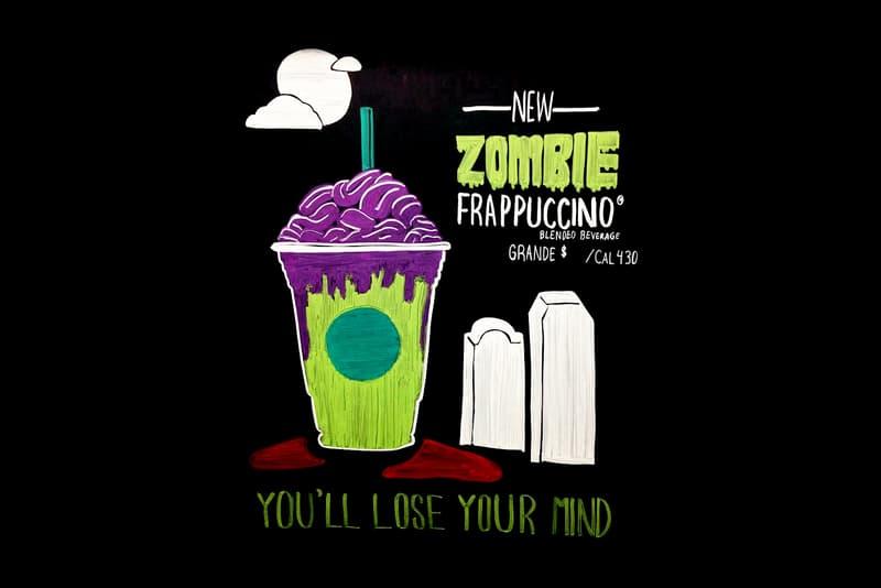 Starbucks Zombie Frappuccino Halloween 2017 October Release Date Info