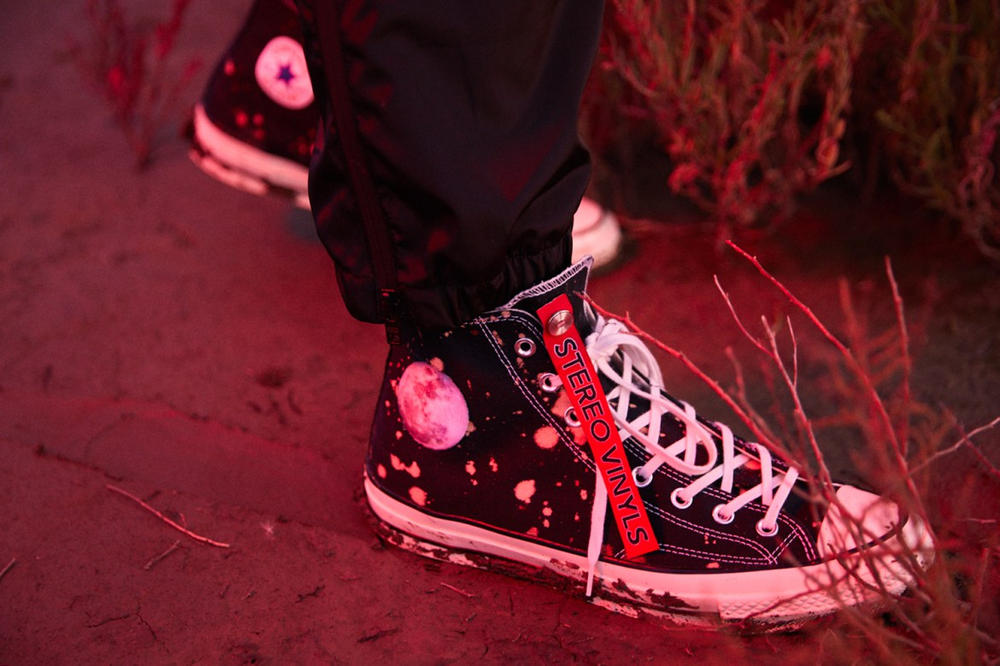 """Stereo Vinyls International Space Archives """"Is Anybody There"""" Collection Converse Collaboration"""