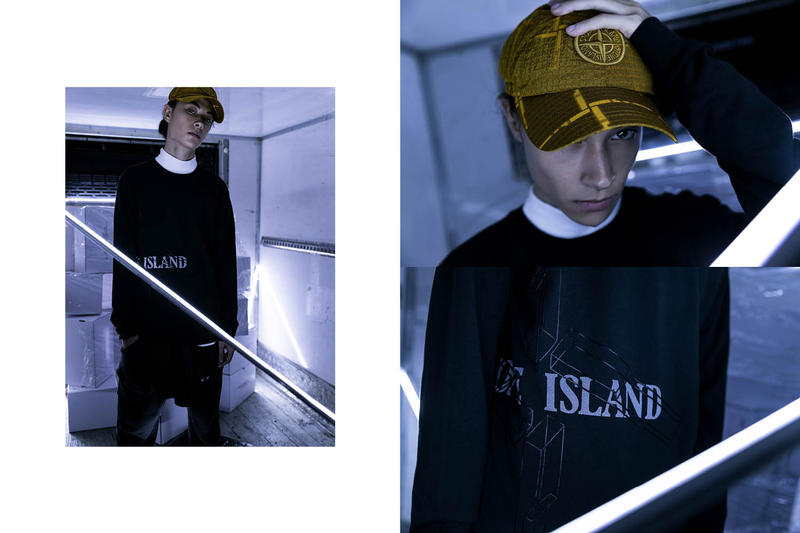 Stone Island HBX editorial