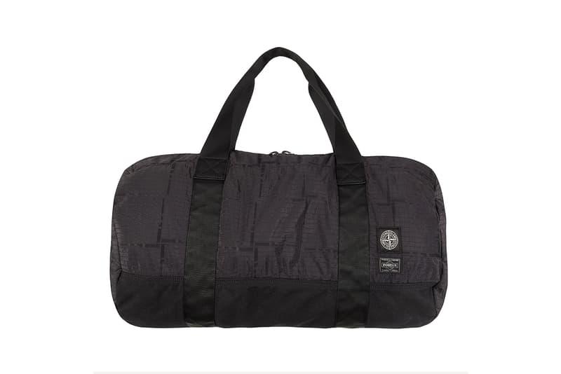 Stone Island Porter Nylon Metal Black Watro Stone Island House Check backpack bag portfolio duffle red grey black olive green