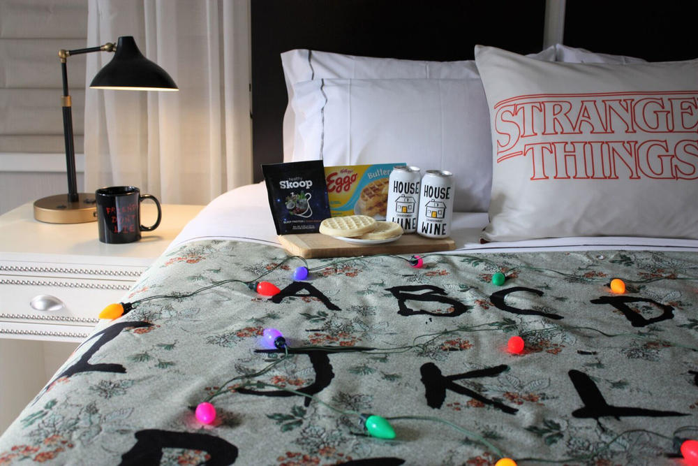 Stranger Things Themed Rooms The Gregory Hotel Binge Watch Season 2 New York City NYC suite eggo