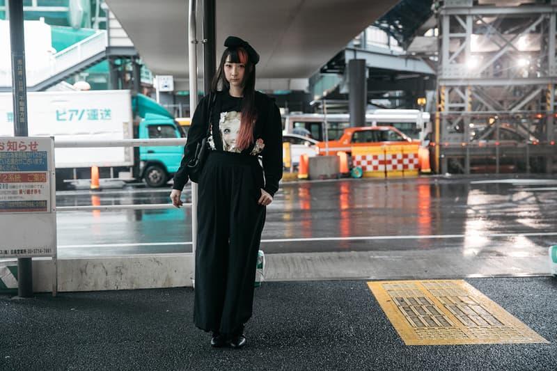 Street Style Tokyo Fashion Week Spring Summer 2018 Streetsnaps