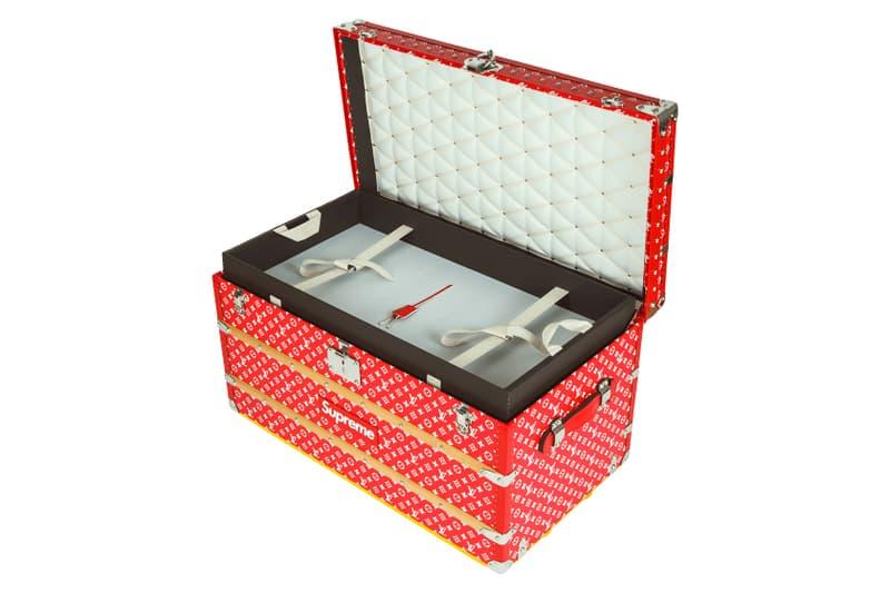 Supreme Louis Vuitton Malle Courrier 90 Trunk