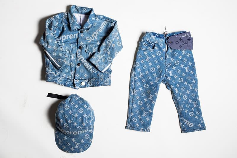 The Shoe Surgeon Supreme x Louis Vuitton Kidswear Elliott Giffis Customisation