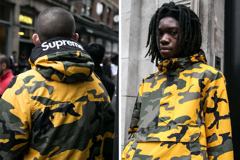 23c1e8887b8 Supreme Nike 2017 London Drop 9 Street Style Photos Streetsnaps