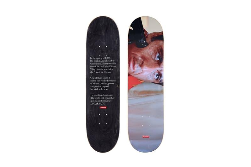 Supreme Scarface Skate Deck Gun Al Pacino