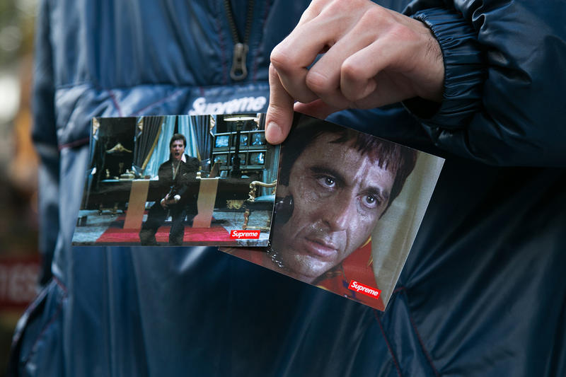 Supreme Scarface 2017 Fall/Winter October 12 Week 8 eight London Drop Photos Highlights Street Style Al Pacino