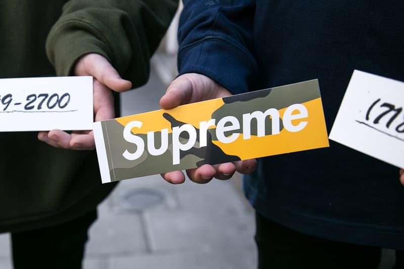 Supreme Stone Island 2017 Fall/Winter October 5 Week 7 Six London Drop Photos Highlights Street Style Lock Box