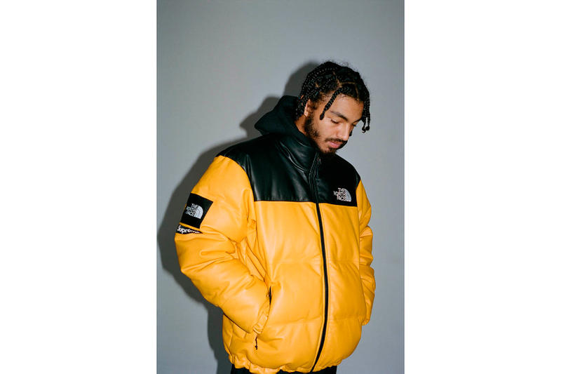 Supreme x The North Face 2017 Fall Lookbook Yellow Jacket
