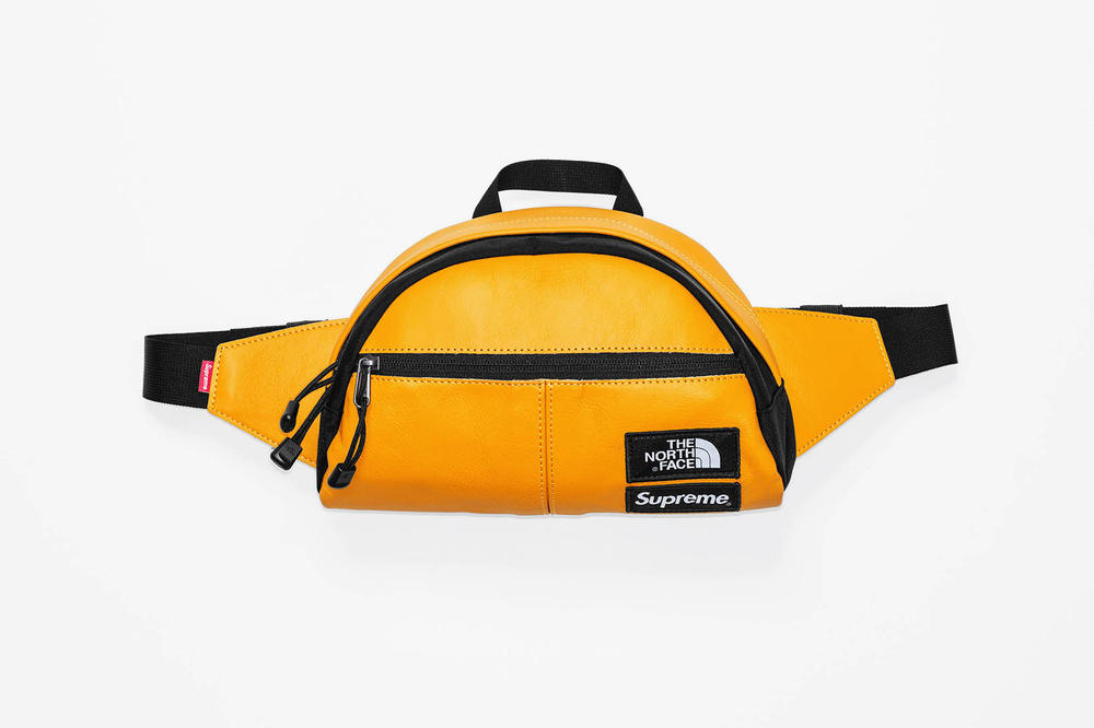 Supreme x The North Face 2017 Fall Yellow Daypack