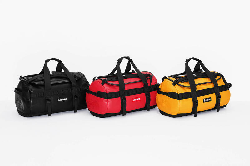 Supreme x The North Face 2017 Fall Group Duffel