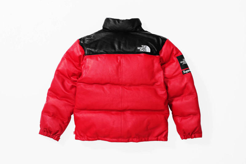 Supreme x The North Face 2017 Fall Red Jacket