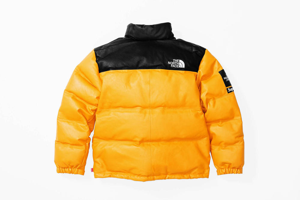 Supreme x The North Face 2017 Fall Yellow Jacket