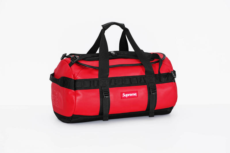 Supreme x The North Face 2017 Fall Red Duffel