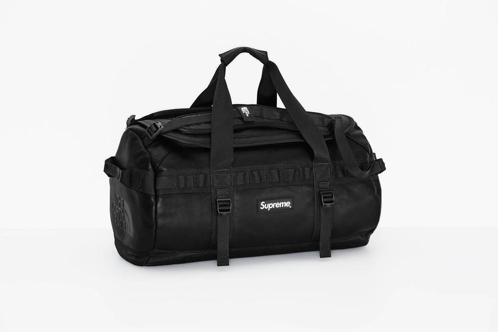 Supreme x The North Face 2017 Fall Black Duffel