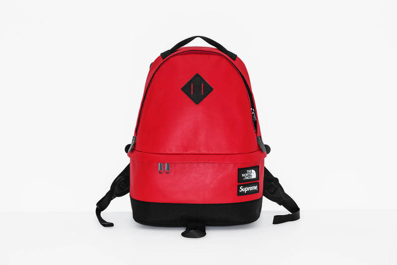 Supreme x The North Face 2017 Fall Red Backpack