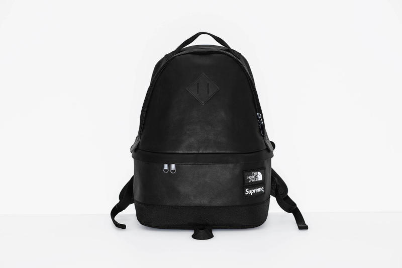 Supreme x The North Face 2017 Fall Black Backpack