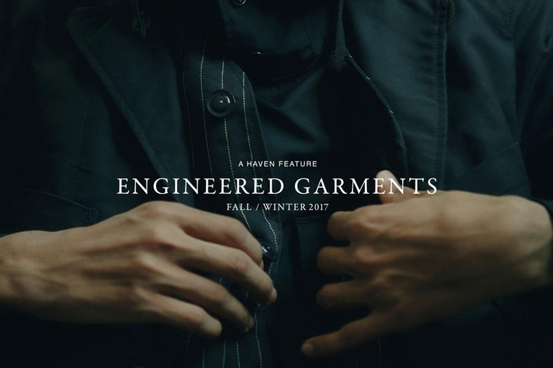 Suzuki's Engineered Garments Haven Fall Winter 2017 Editorial